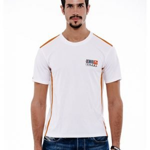Dri-Fit White & Orange - Front