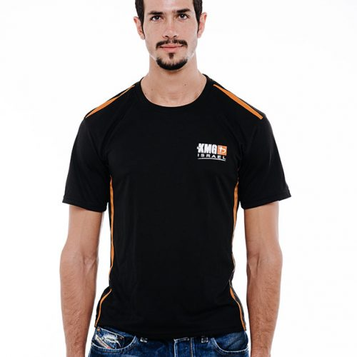 Dri-Fit Black & Orange - Front