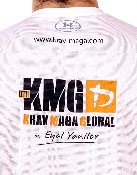 UA Dri-Fit Training Shirt for Men New Design Back (zoom) - White