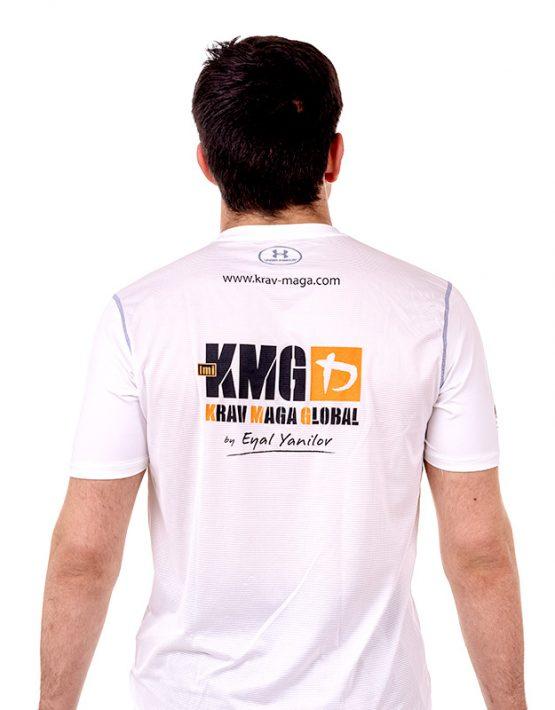 UA Dri-Fit Training Shirt for Men New Design Back - White