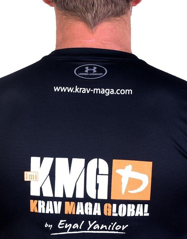 UA Dri-Fit Training Shirt for Men New Design - Black (Back Zoom)