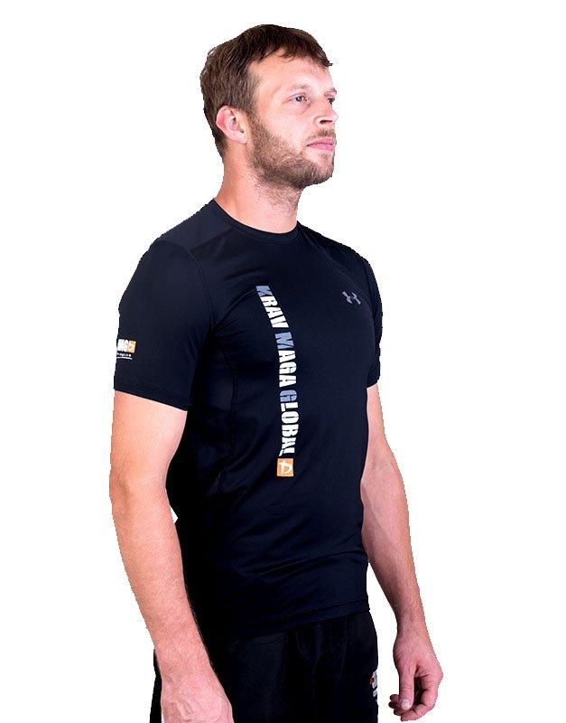 UA Dri-Fit Training Shirt for Men New Design - Black (Side)