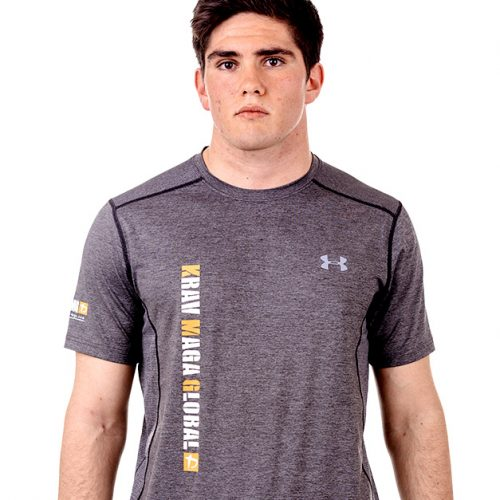 UA Dri-Fit Training Shirt for Men New Design Front - Grey