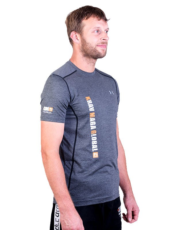 UA Dri-Fit Training Shirt for Men New Design - Grey (Side)