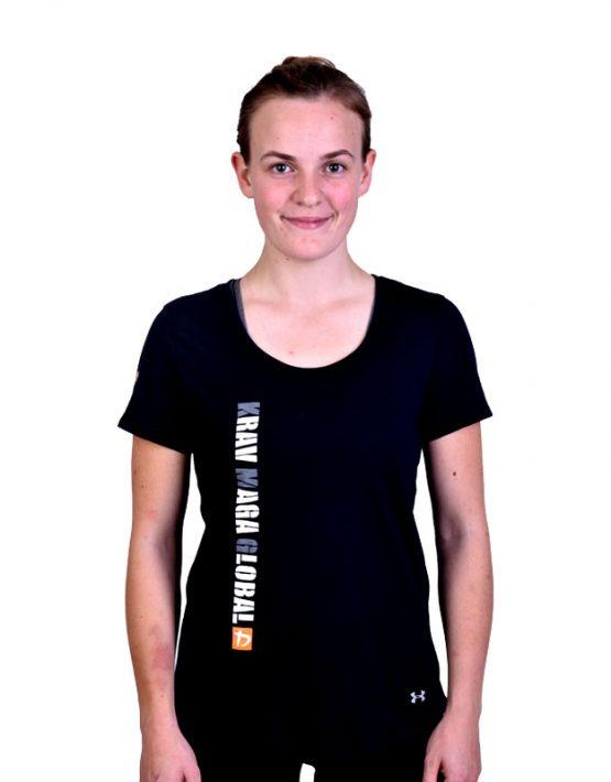 Loose Under Armour Dri-Fit Shirt for Women - Black