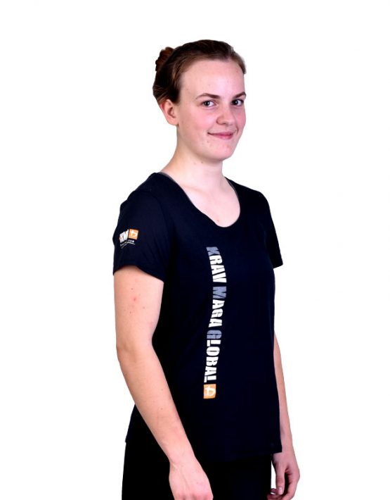 Loose Under Armour Dri-Fit Shirt for Women - Black (Side)