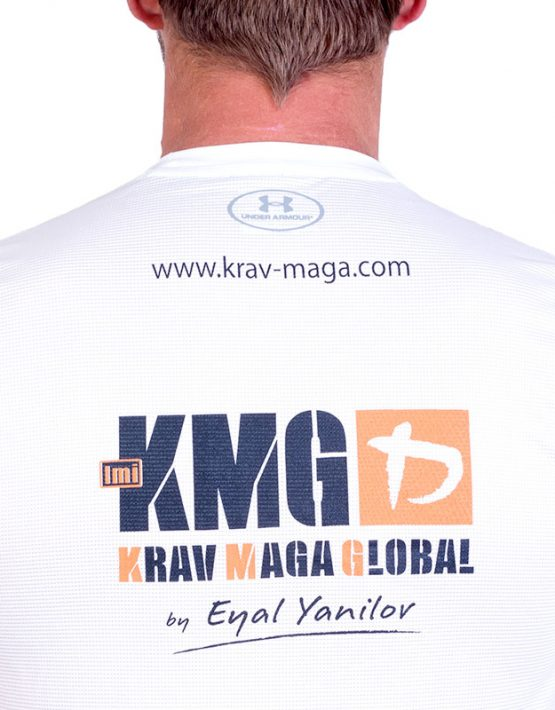 UA Dri-Fit Training Shirt for Men New Design - White (Back Zoom)