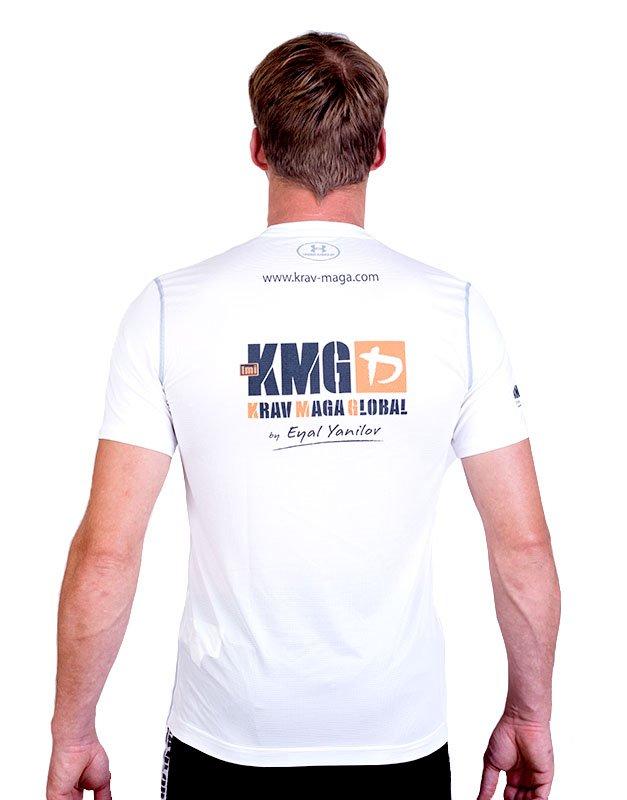UA Dri-Fit Training Shirt for Men New Design - White (Back)