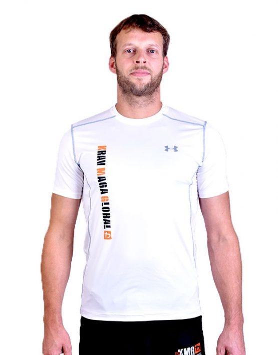 UA Dri-Fit Training Shirt for Men New Design - White