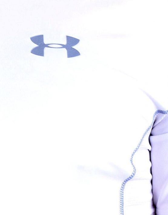 UA Dri-Fit Training Shirt for Men New Design - White (Zoom)