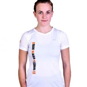 UA Dri-Fit Training Shirt for Women New Design - White