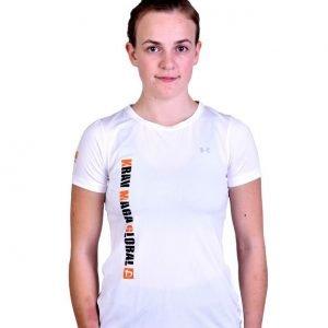 UA Dri-Fit Training Shirt for Women New Design - White