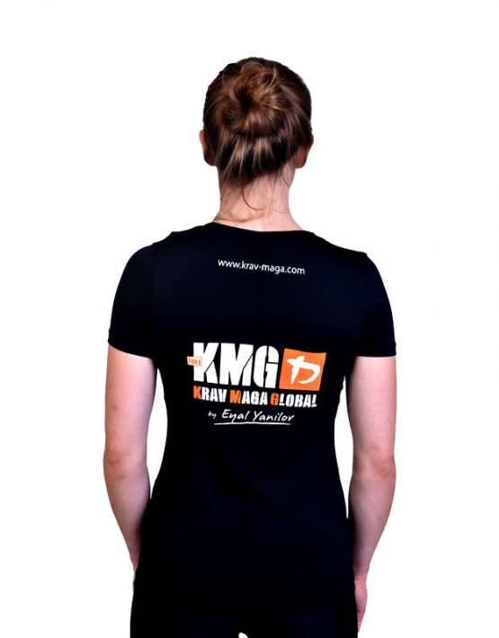 UA Dri-Fit Training Shirt for Women New Design - Black (Back)