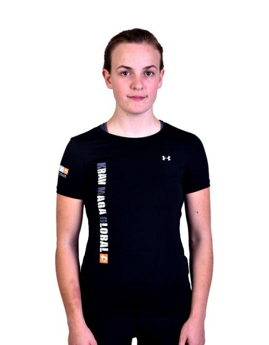 UA Dri-Fit Training Shirt for Women New Design - Black