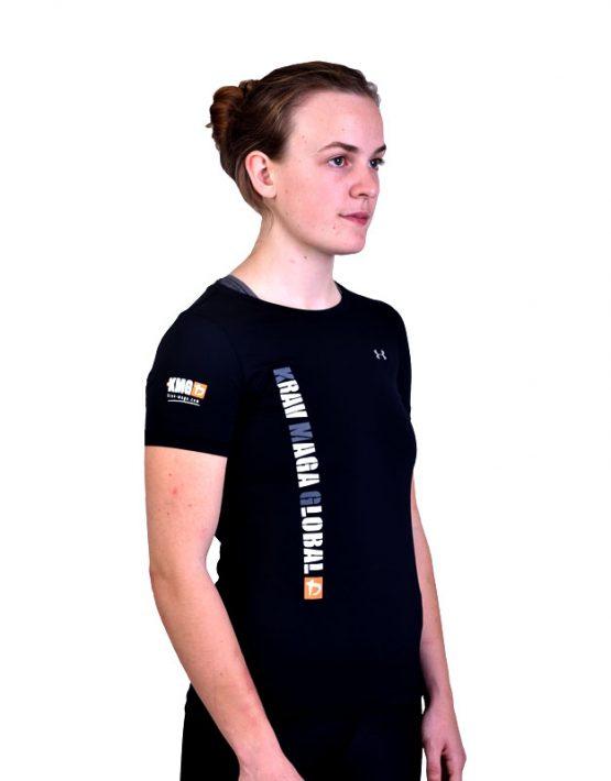 UA Dri-Fit Training Shirt for Women New Design - Black (Side)