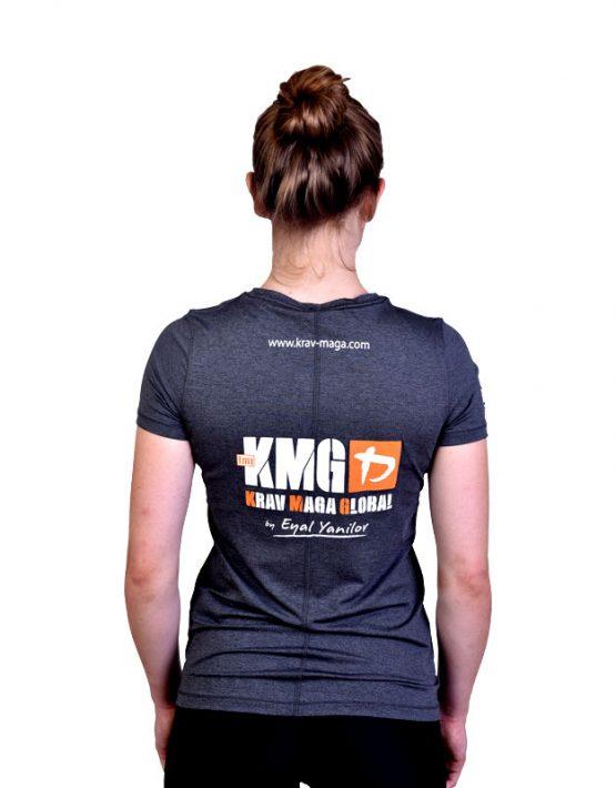 UA Dri-Fit Training Shirt for Women New Design - Grey (Back)