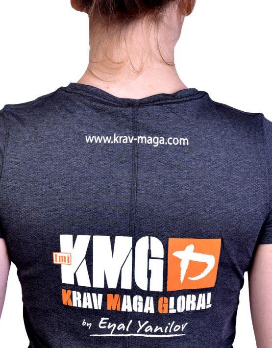 UA Dri-Fit Training Shirt for Women New Design - Grey (Back Zoom)