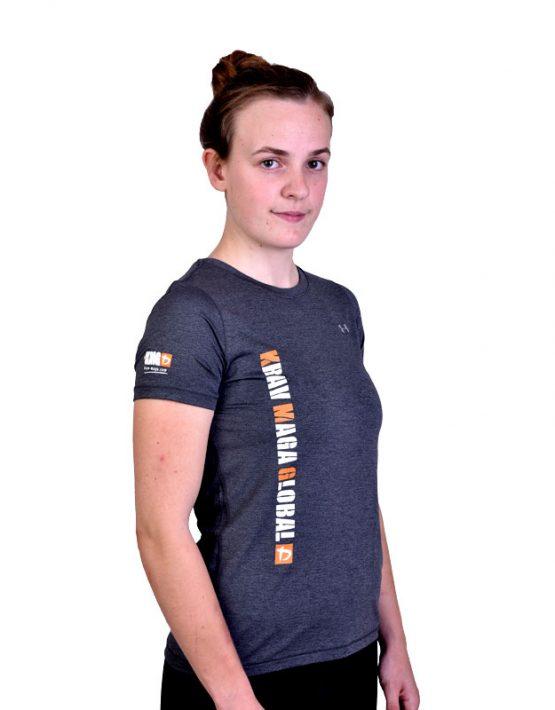 UA Dri-Fit Training Shirt for Women New Design - Grey (Side)