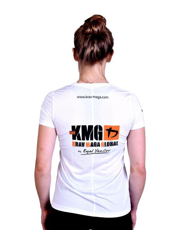UA Dri-Fit Training Shirt for Women New Design - White (Back)