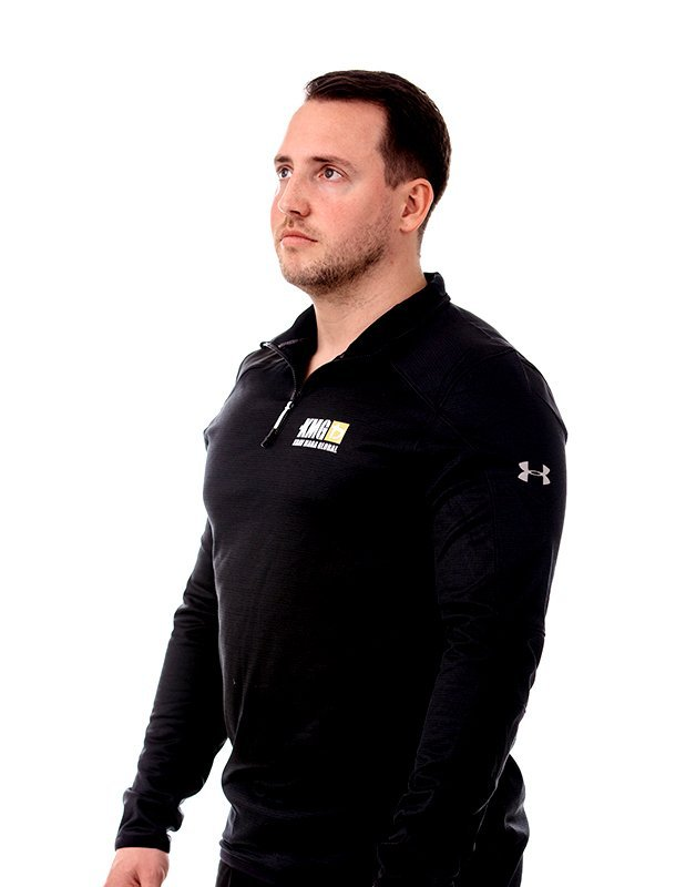 Training Top Quarter Zip by Under Armour (Side) | KMG