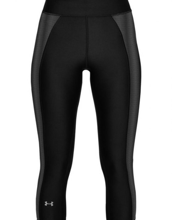 UA Stripe Tights - Front